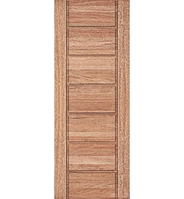 Porta externa maciça 1092 100x210 Cedro Arana
