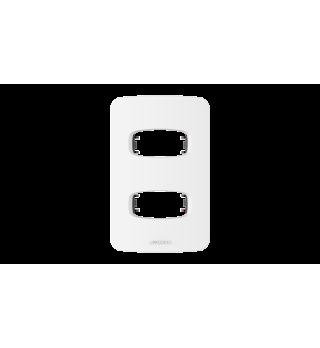 Placa 2x4 2 postos - Alumbra Linha Gracia