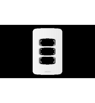 Placa 2x4 3 postos - Alumbra Linha Gracia