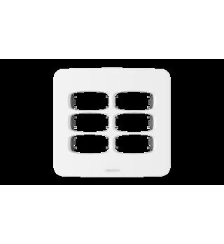 Placa 4x4 6 postos - Alumbra Linha Gracia