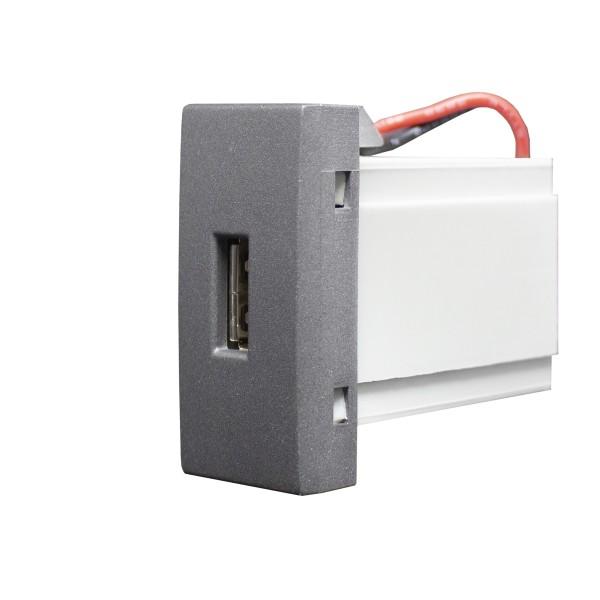 Módulo USB - Alumbra Linha Inova Pro Class - Grafite